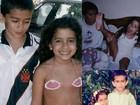 Anitta parabeniza irmão por aniversário e posta fotos da infância