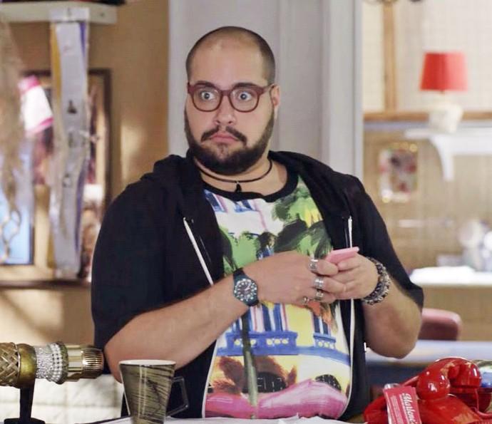 Fran fica em choque ao descobrir que Amaury é casado (Foto: TV Globo)