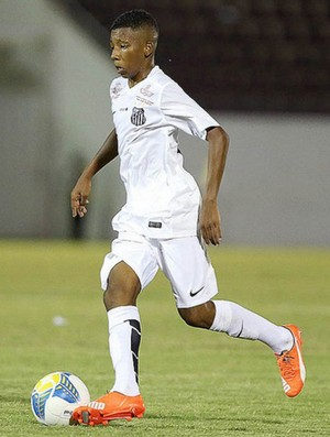Nicolas Reis, Santos sub-17 (Foto: Pedro Ernesto Guerra Azevedo / Santos FC)