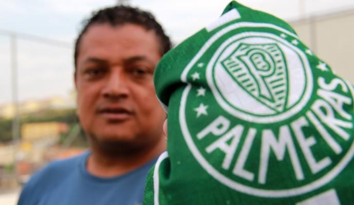 Tonhão Palmeiras Paulistão 1993 (Foto: Sergio Gandolphi)
