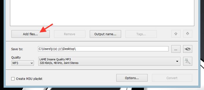 Buscando um arquivo de vídeo para abrir no Free Video To MP3 (Foto: Reprodução/Marvin Costa)