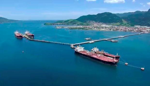 Porto de São Sebastião (Foto: Reprodução/ TV Vanguarda)