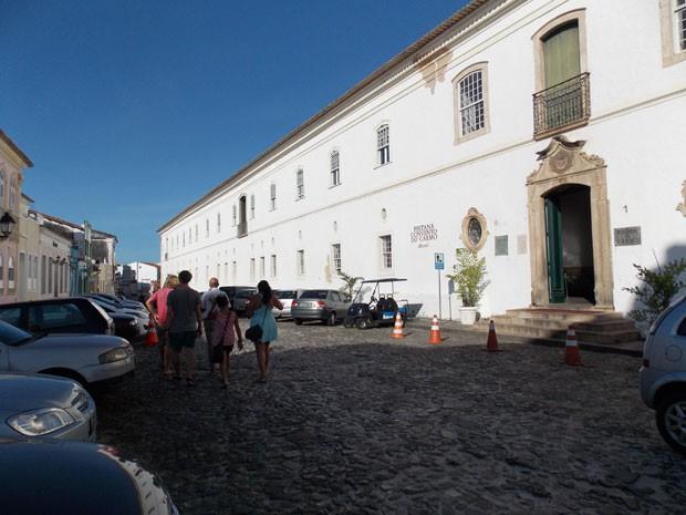 Hotel Convento do Carmo, no bairro Santo Antônio Além do Carmo, em Salvador (Foto: Henrique Mendes/G1 BA)