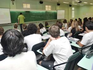 Escola de Blumenau obteve a melhor média catarinense no Enem (Foto: Divulgação)