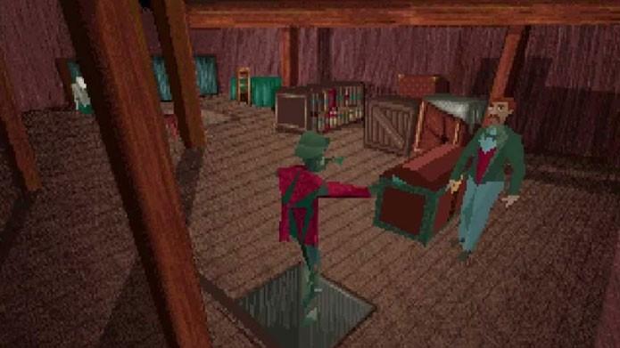 Alone in the Dark foi o primeiro jogo em 3D de survival horror (Foto: Reprodução/Youtube)