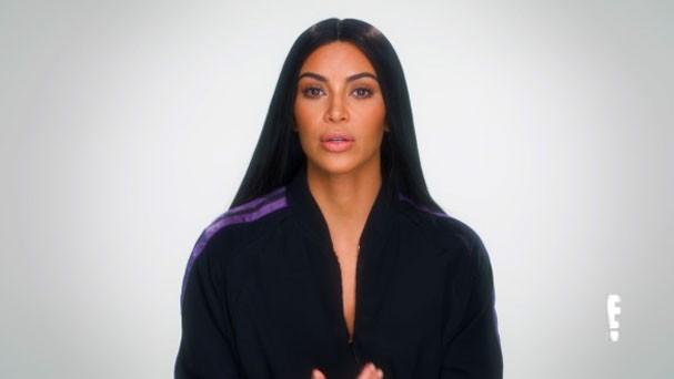Kim entra em detalhes sobre o momento do roubo em Paris (Foto: Reprodução)