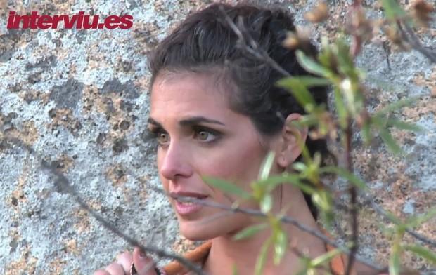 Noemí Merino posou pela quarta vez para a revista Interviú (Foto: Reprodução)