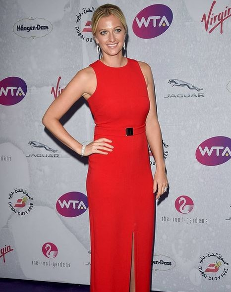 Tenista Petra Kvitova na festa antes de Wimbledon (Foto: Reprodução / Instagram)