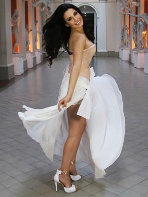 Julia Gama está em Londres para o Miss Mundo (Foto: Leonardo Rodrigues/Miss Mundo Brasil)