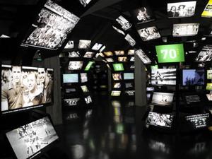 Atividade dentro do Museu do Futebol testa os conhecimentos do público sobre o esporte. (Foto: Divulgação/Museu do Futebol)