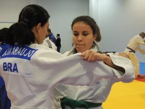 Judoca já participou de treino com a medalhista Lúcia Araújo (Foto: Divulgação / Próvisão)