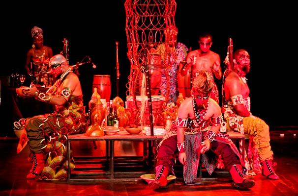 """O espetáculo """"Exu – a Boca do Inferno"""" faz a abertura do Festival hoje, no CCBB de São Paulo (Foto: Divulgação)"""