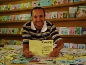 Olegário Filho, presidente da Academia Caruaruense de Literatura de Cordel  (Foto: Divulgação/ ACLC)