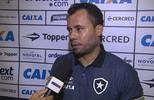 """Jair Ventura valoriza primeira vitória do Botafogo no Brasileirão: """"Matar um leão por dia"""""""