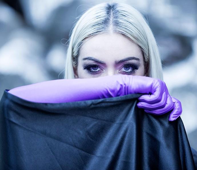 Cuidado! Laura Keller pode te hipnotizar com o olhar! (Foto: Ellen Soares/ Gshow)