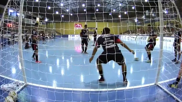 Cascavel x Joinville futsal (Foto: Reprodução / SporTV)