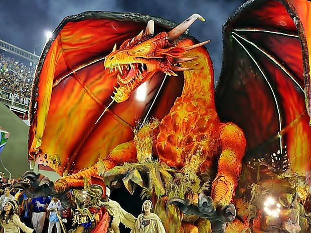 Alegoria do artista de Parintins Rossy Amoedo  (Foto: Pedro Gadelha/Divulgação)