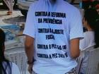 Servidores da UFS protestam contra a reforma da Previdência