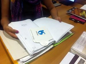 Ação civil pública contra a Sabesp denunciou fraude na contratação de mão de obra terceirizada (Foto: Isabela Leite/G1)