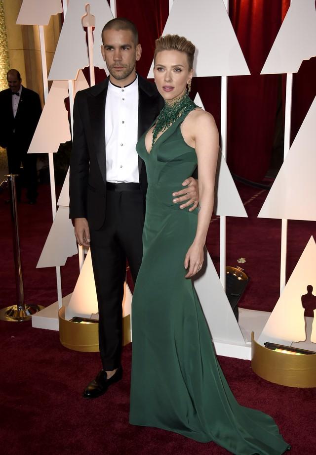 Scarlett Johansson e Romain Dauriac (Foto: Getty Images)