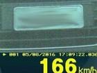 Carros de luxo são flagrados em velocidade de até 166 km/h no Paraná