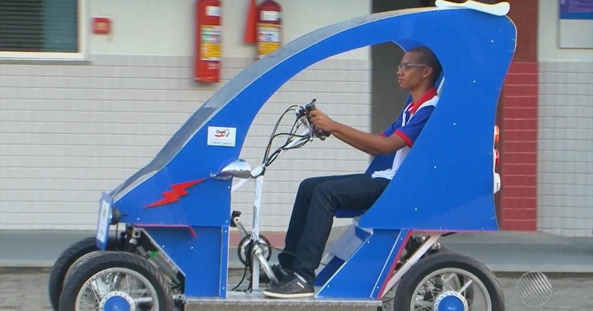 Resultado de imagem para Estudantes de Feira de Santana criam veículo elétrico que pode ser controlado por celular