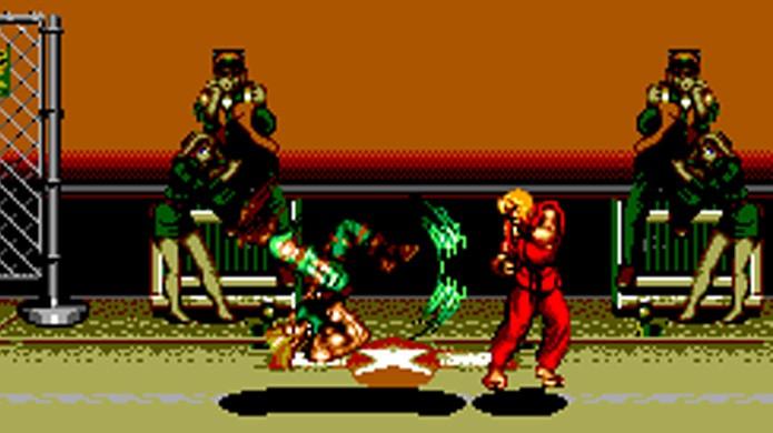 A versão de Street Fighter 2 para Master System impressiona tecnicamente (Foto: Reprodução/Hardcore Gaming 101)