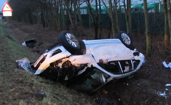 Junior Malanda acidente de carro (Foto: AP)