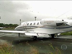 Cessna, Eduardo Campos, avião, jato (Foto: Arquivo/TV Globo)