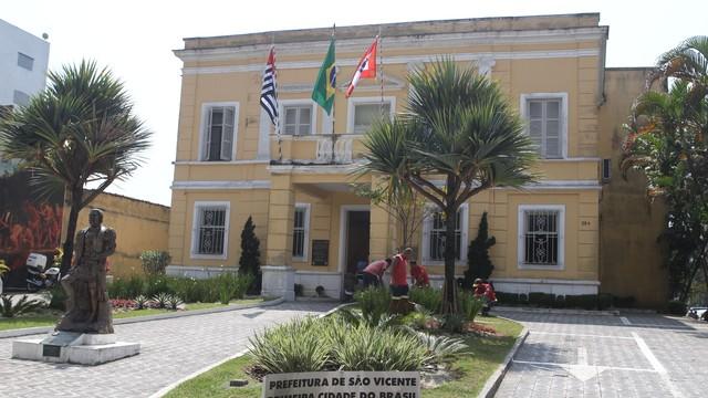 Prefeitura de São Vicente (Foto: Jornal A Tribuna)