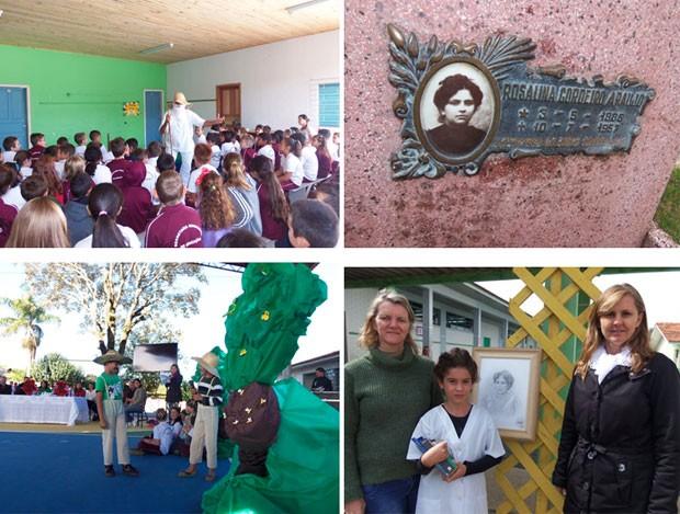 Fotos das atividades realizadas (Foto: Divulgação/ RPC)