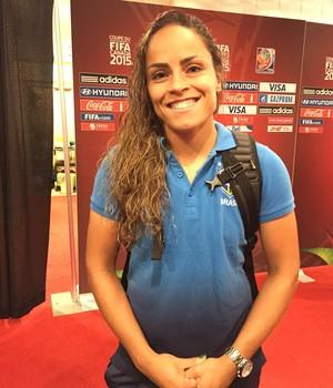 Mônica - seleção brasileira  (Foto: Cíntia Barlem)