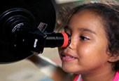 Ensino de astronomia aproxima alunos da ciência                      (Reprodução TV)