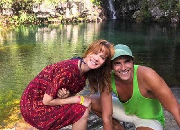 Mariana Ximenes e Reynaldo Gianecchini (Foto: Reprodução)