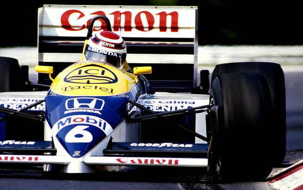 Nelson Piquet GP da Hungria 1986 (Foto: Getty Images)