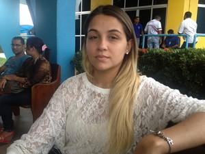 Jéssica Feltrin (Foto: Luana Leão/G1)