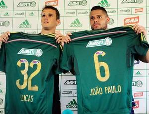Apresentação Palmeiras Lucas e João Paulo (Foto: Marcos Ribolli)