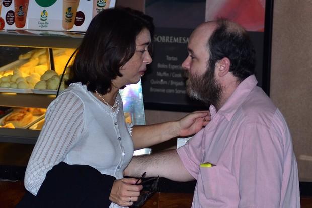Alexandra Marzo e Diogo Marzo (Foto: Roberto Teixeira/EGO)