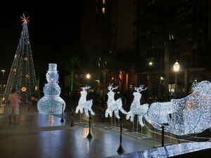 Natal em Campos, RJ (Foto: Divulgação/Prefeitura de Campos)