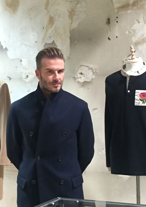David Beckham's English Rose (Foto: @SUZYMENKESVOGUE)