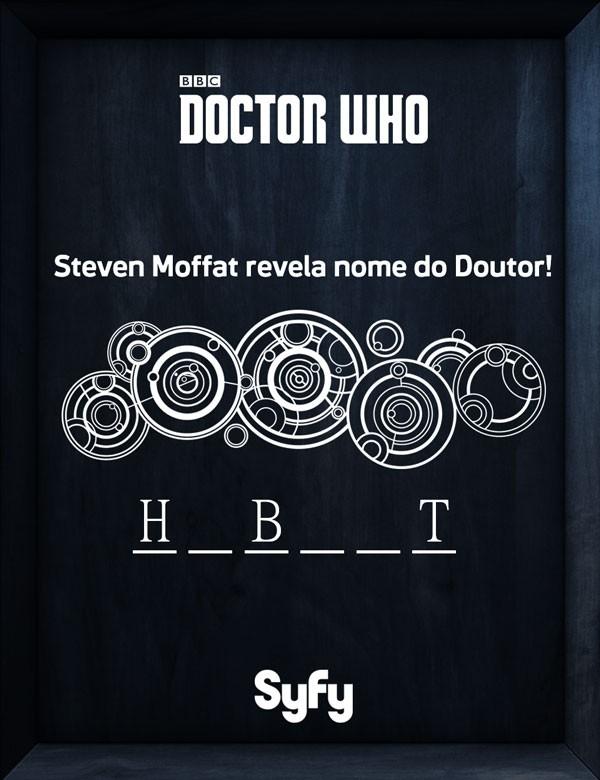 Nome revelado Doctor Who (Foto: Divulgao)
