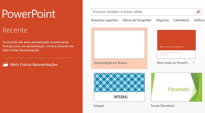Microsoft PowerPoint 2013 (Foto: Divulgação)