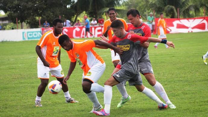América-RN x Safern jogo-treino (Foto: Canindé Pereira/Divulgação)
