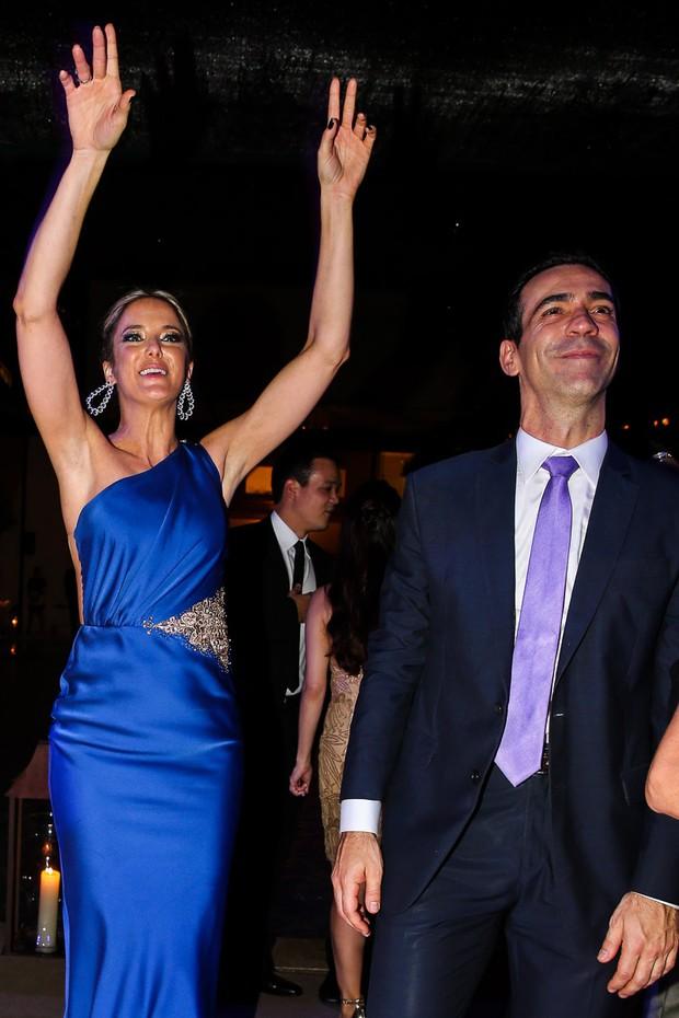 Ticiane Pinheiro e César Tralli (Foto: Manuela Scarpa / Foto Rio News)