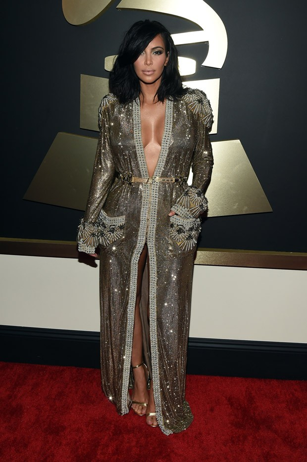 Decotes no Grammy Awards 2015 (Foto: Getty Images)