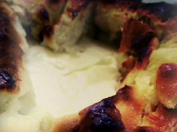Po recheado com queijo e cream cheese Philadelphia (Foto: Reproduo)