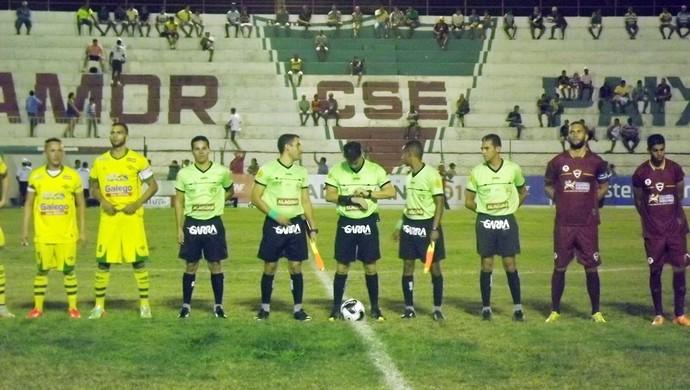 CSE x Ipanema, em Palmeira (Foto: Romário Silva/Divulgação CSE)