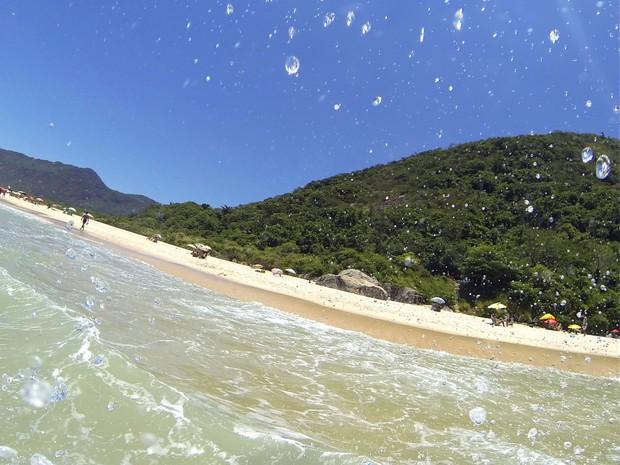 Praia de Grumari, na Zona Oeste do Rio, foi a 24ª mais bela do Brasil no ranking do Trip Advisor (Foto: Gabriel Barreira/G1)