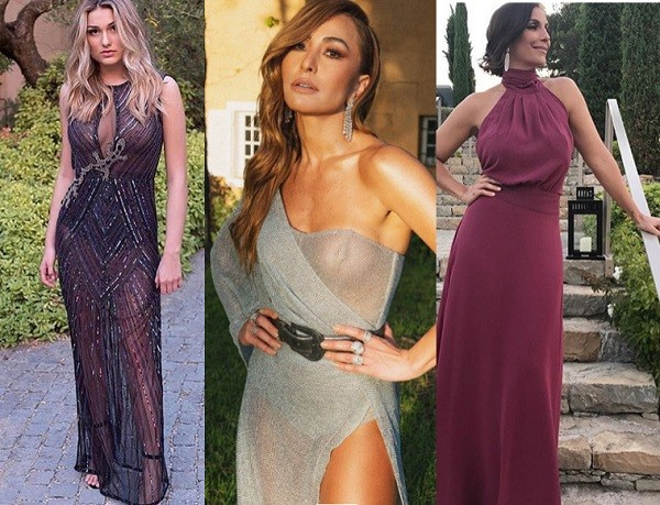 Os looks de Sasha, Sabrina Sato e Ivete Sangalo no gala de Leonardo DiCaprio (Foto: Reprodução/ Instagram)