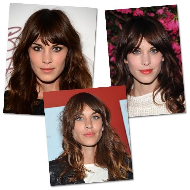Franjão ou franjinha, desfiada ou reta  saiba qual estilo de franja mais  combina com seu rosto e cabelo c2d7846a71